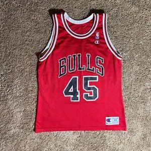 Vintage Michael Jordan Bulls #45 Champion Jersey